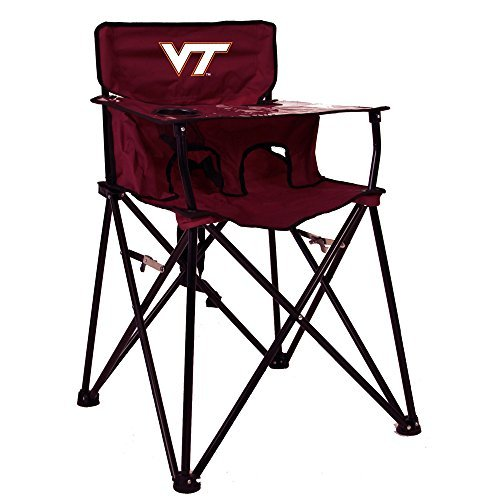 VIRGINIA TECH HOKIES NCAA ULTIMATE TRAVEL CHILD HIGH CHAIR by Rivalry Distributing by Rivalry Distributing