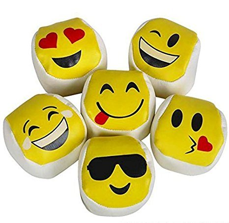 emoji-kickball-hacky-sack-hackey-party-balls-lot-of-12
