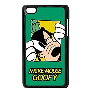 iPod Touch 4 Case Black Mickey Mouse Goofy Custom KHJSDFUJF2113