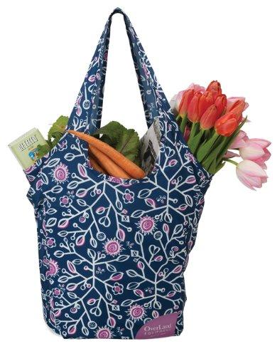Overland Equipment Everyday Einkaufstasche Bag Navy Print