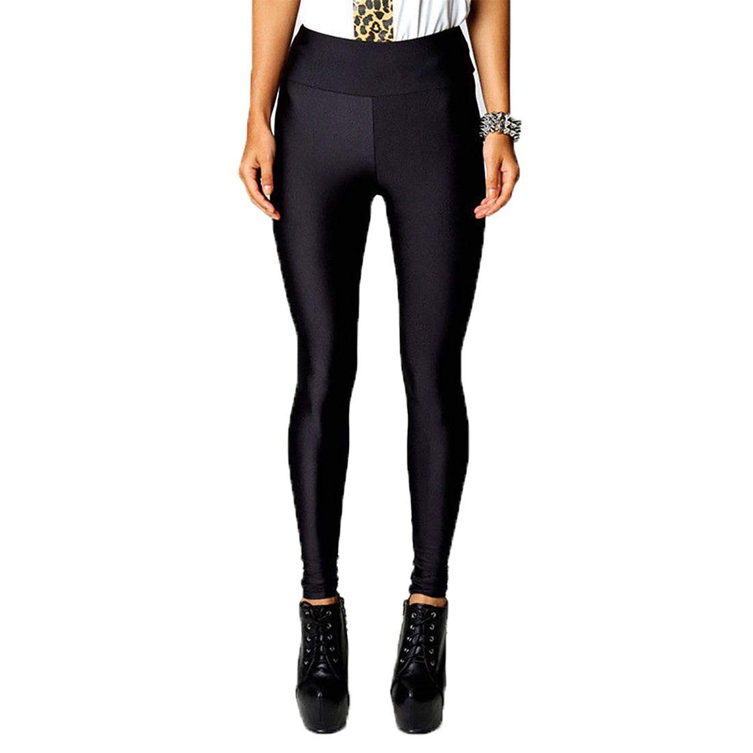 809d57fbdc22c MA ONLINE Womens Full Length Neon Gym Wear Pants Ladies High Waist Fitness  Leggings Sports Pants at Amazon Women's Clothing store: