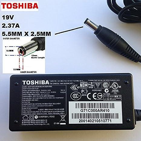 Cargador de 19 V 2.37A para Toshiba Satellite Pro R50-B-12P ...