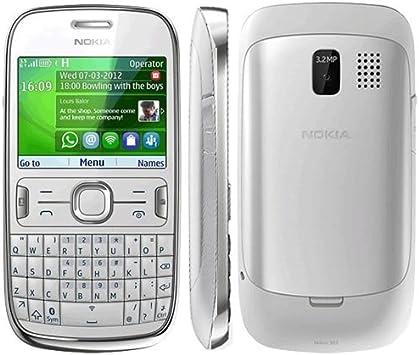 Nokia Asha 302 - Móvil libre (pantalla de 2,4