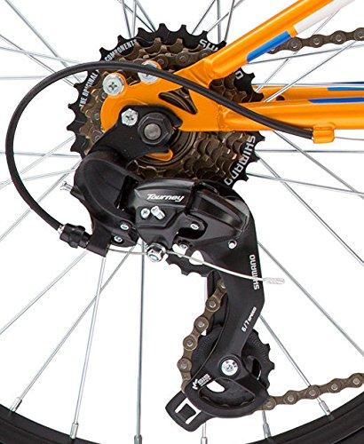 "51qOAemBv3L - Diamondback Bicycles Cobra 20 Youth 20"" Wheel Mountain Bike, Orange"
