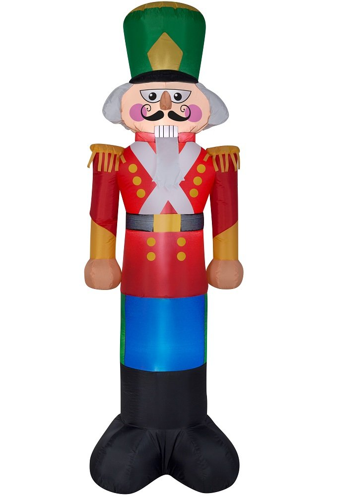 Airblown Inflatable Toy Soldier 4 Foot Tall By Gemmy Industries NEW