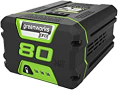 Greenworks PRO 80V 2.0 AH Lithium Ion Battery GBA80200