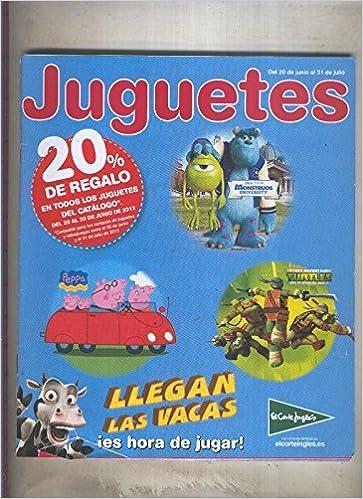 Catalogo juguetes El Corte Ingles del 20 junio al 31 de julio 2013: Amazon.es: Varios: Libros