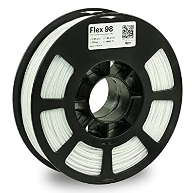 KODAK 3D Printing Filament FLEX 98 (White, 2.85 mm)