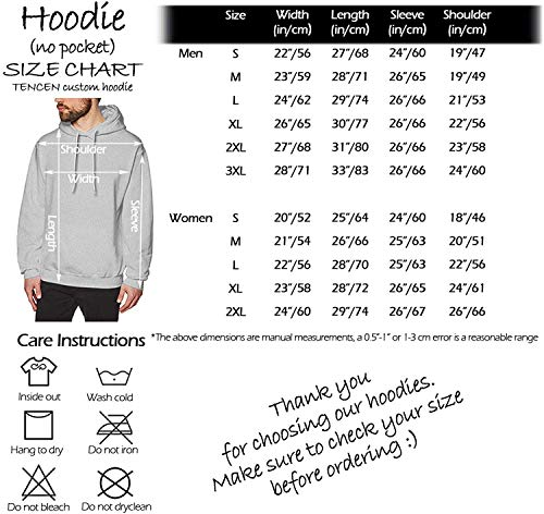 Tencen Custom Hoodie Design Your Own Pullover Hooded Activewear Workout Shirt Sweatshirt 1 Side Back Only Print Jersey |