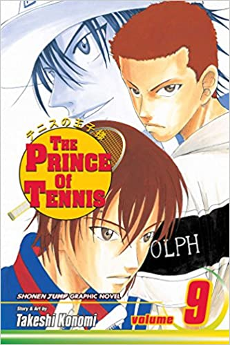 Book The Prince of Tennis: Volume 9