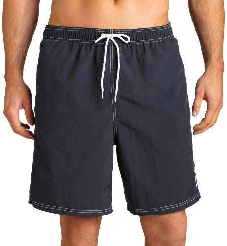 Nautica Men's Solid Nylon Swim (Nautica Trunk)