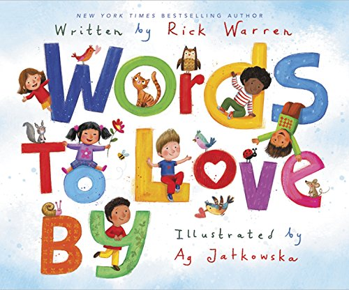 book cover - Words to Love By - Rick Warren