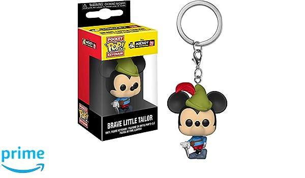 Amazon.com: Funko Brave Little Tailor Mickey Mouse: Mickeys ...