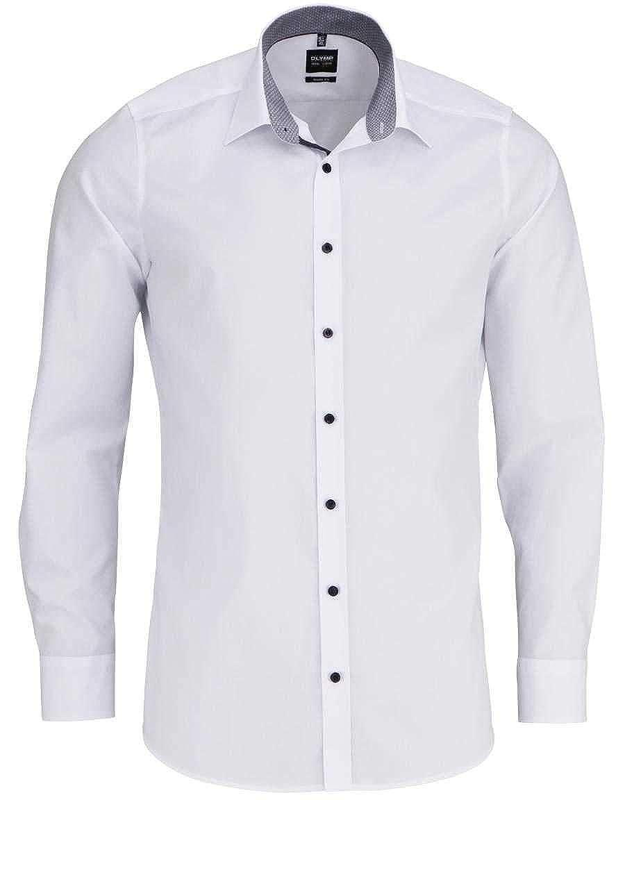 TALLA 46. Olymp - Camisa Formal - Liso - Clásico - para Hombre