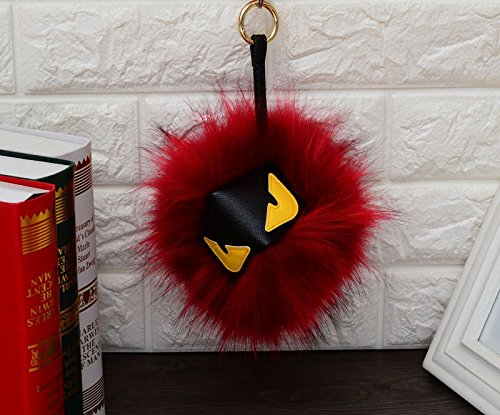 ColorfulDream Fur Monster Pom Pom key chain Fur Pendant for sale  Delivered anywhere in USA