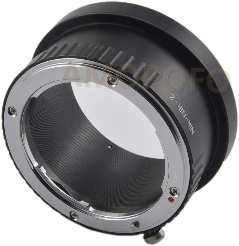 NIK to Nikon Z Adapter Nikon AI F Mount Lens to Nikon Z Mount Z6 Z7 Camera