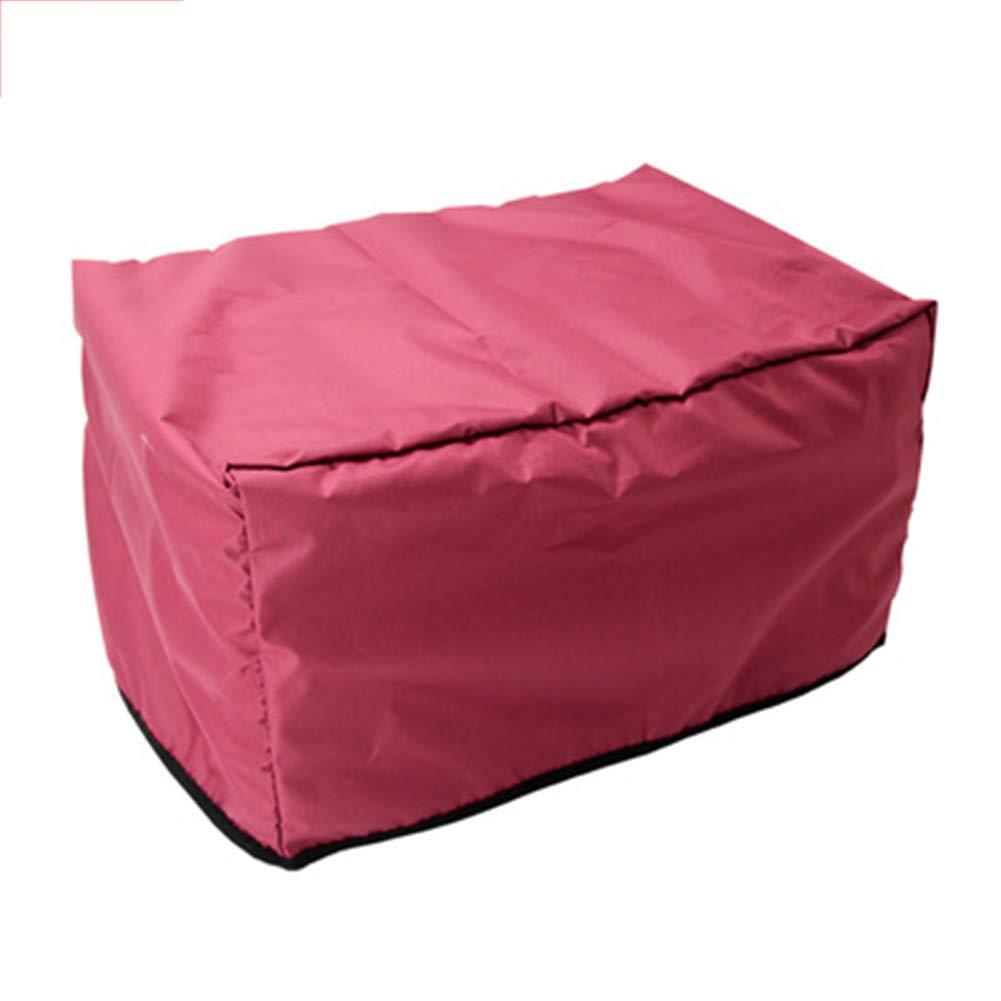 JIANFEI Copertura Mobili Giardino Impermeabile Design Esterno in Velcro Impermeabile, 2 Colorei 20 Dimensioni Personalizzabili (colore   Red, Dimensioni   120x120x85cm)