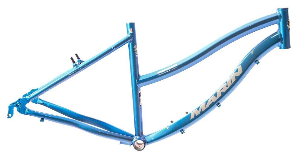 17'' MARIN REDWOOD 26'' Women's Hybrid / Comfort Bike Frame Blue NOS NEW