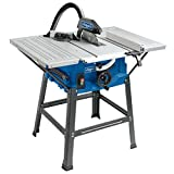 Scheppach HS100S 240 V 10-Inch Table Top Saw Bench - Blue