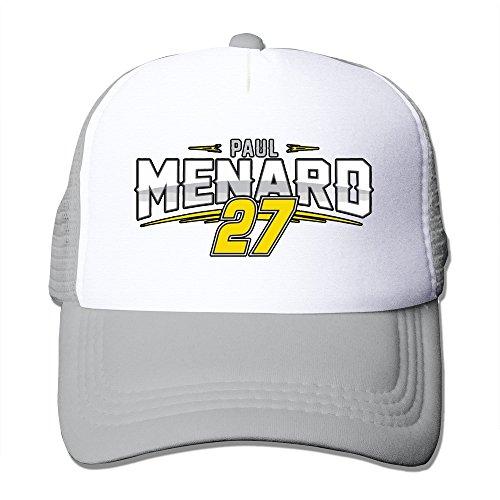 paul-menard-racing-driver-trucker-hats-style-hat-sunhat-ash