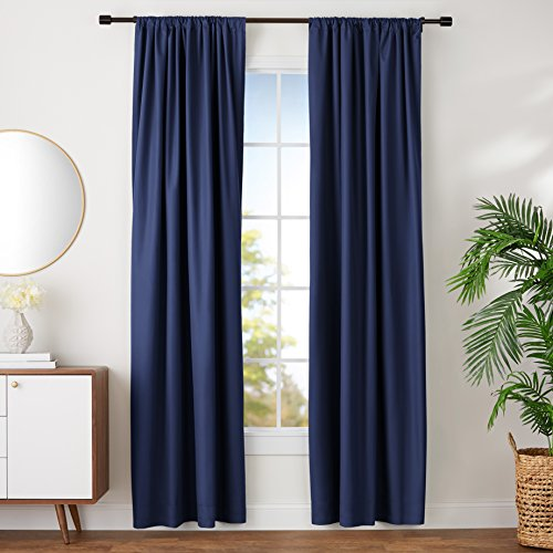 Best Curtains Blue 96 Inch For 2019
