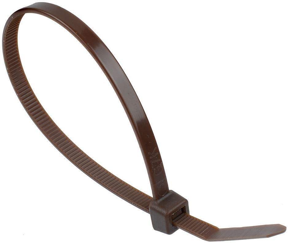 100 x Serre-C/âbles en Nylon Jaune 100 x 2.5mm Extra Fort Attaches /à Cravate