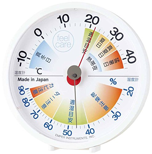 EMPEX weather thermometer temperature hygrometer Free Ship w//Tracking# New Japan