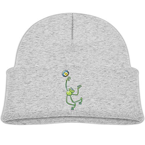 - Qiop nee Beanie Hats Skull Caps Wool Volleyball Frog Baby Soft Boys Girl