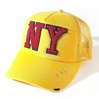 3e8d60a97471f Amazon | (シスキー) SHISKY キッズ M0-0 ボーイズ ガールズ 全8柄♪NY&LAサガラワッペン付きメッシュキャップ 帽子  日よけ54 8-2 | 帽子 通販