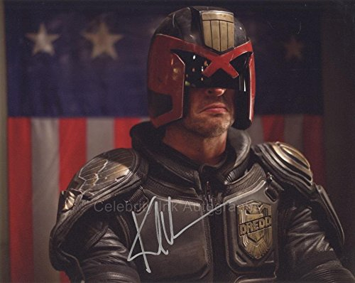 KARL URBAN as Judge Dredd - Judge Dredd (2012) GENUINE AUTOGRAPH