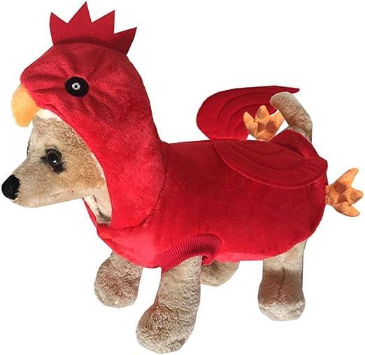 Jiken - Disfraz de perro de pollo para decoración de fiestas X ...
