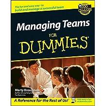 Managing Teams For Dummies