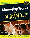 img - for Managing Teams For Dummies book / textbook / text book