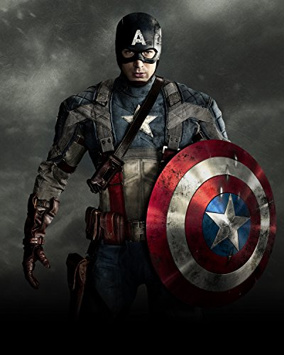 Captain America Poster (Marvels Avengers Captain America Poster Wall Decor High Quality)