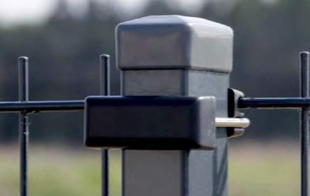 40x50mm 40x60mm 40x80mm 40x100mm OuM 10 St/ück U-B/ügelset 40x60mm zur Zaunbesfestigung