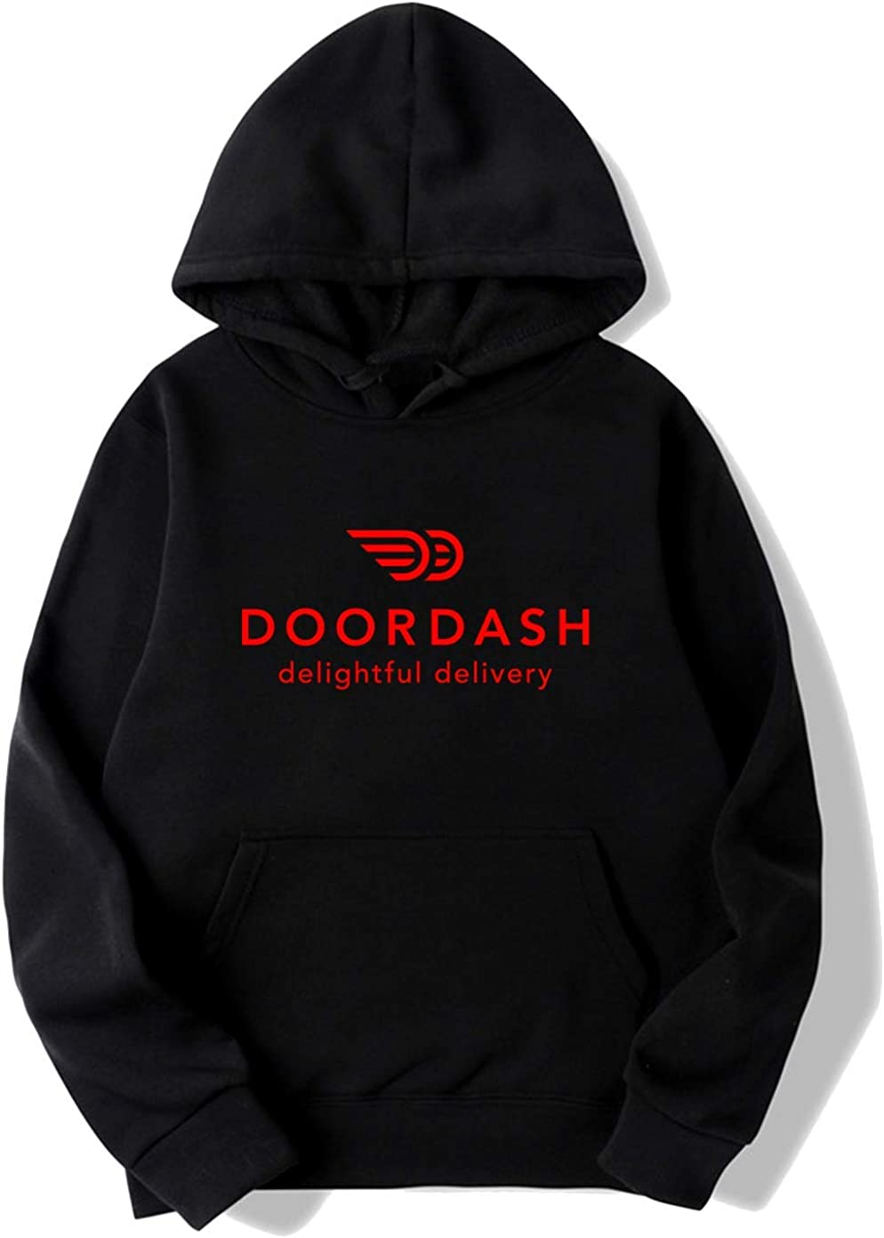 baoqing DoorDash Delightful Delivery Hoodies Sweatshirt for Mens
