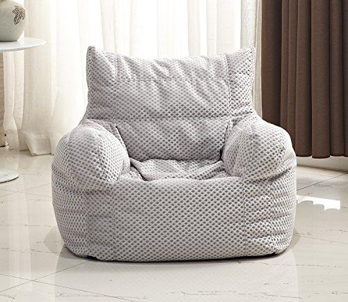 Milton Greens Stars Small Diamond-Weave Arm Chair Bean Bag, ()