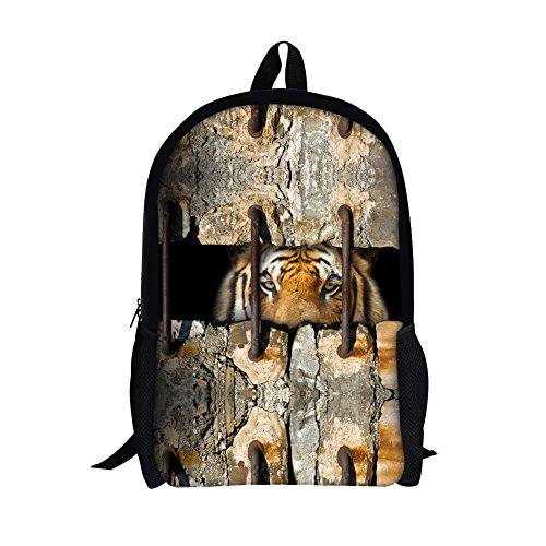 TOREEP 3D Wall Sewing Animal Printing Backpack School - Sunglasses Online Police Buy