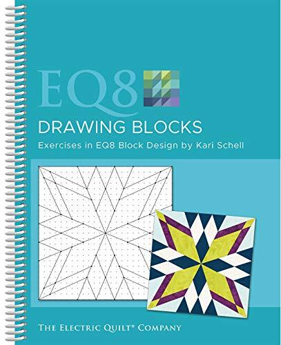 (Electric Quilt Company B-8DRAW EQ8 Drawing Blocks Book, None)
