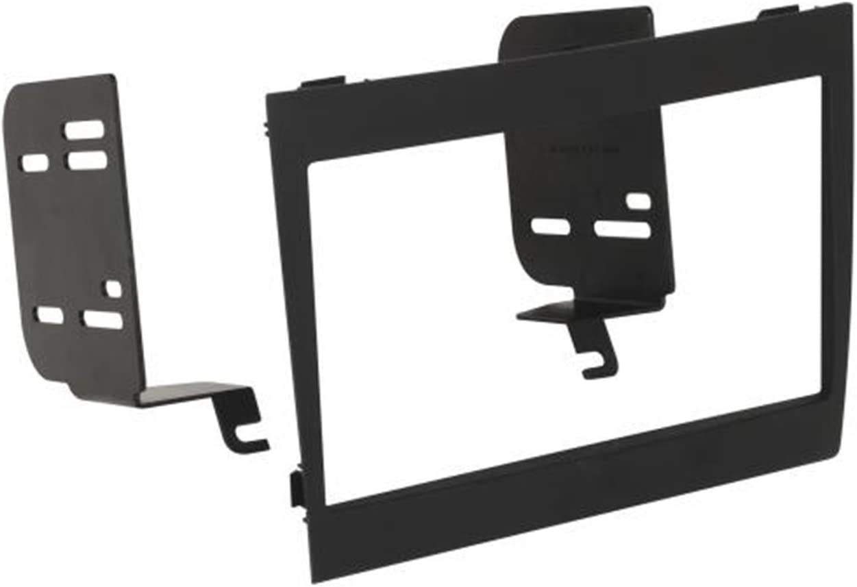 SCOSCHE GM1597B Double DIN Car Stereo Dash Installation Kit Compatible with 2004 to 2006 Pontiac GTO Vehicles