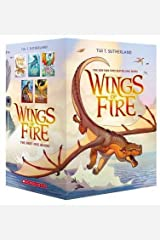 Wings of Fire Boxset, Books 1-5 (Wings of Fire) Paperback