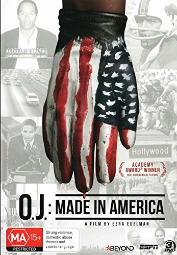 O.J. Made In America | O.J.Simpson Documentary | 3 Discs | Documentary | NON-USA Format | PAL | Region 4 Import - Australia
