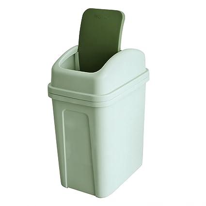 Amazon Com Teyyvn 7 Liter 1 8 Gallon Plastic Trash Can Small