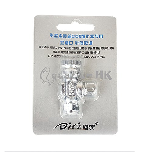 DICI Needle Valve for DIY CO2 Regulator Diffuser System Aquarium Planted Tank by DICI