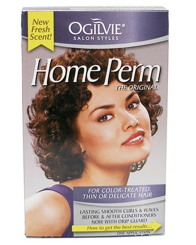 Ogilvie Home Perm Color,Treated Thin or Delicate Hair, 1 Oz