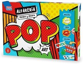 Falomir- Alfarería Pop Art Bandeja con moldes (28435)