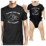 Best 365 Printing Friend Matching Gifts - 365 Printing Father And Son Best Friends Black Review