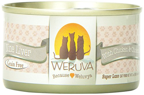 Weruva 878408001147 Nine Liver Canned Cat Food
