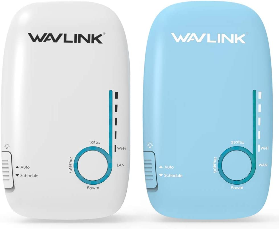 WAVLINK Whole Home WiFi Mesh System,AC1200 Gigabit Smart Mesh Wi-Fi Router Dual Band Wall-Mounted with Patent Touchlink Technology-2 Pack for 2000 sq.ft Coverage