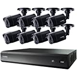 LOREX LHV00161TC8B  Lhv00161tc8b 16-Channel Mpx Hd 1tb Dvr with 8 720p Camera (Black)